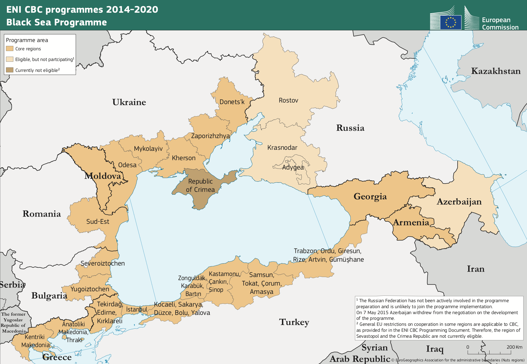 Black Sea ENI CBC Programme 2014-2020