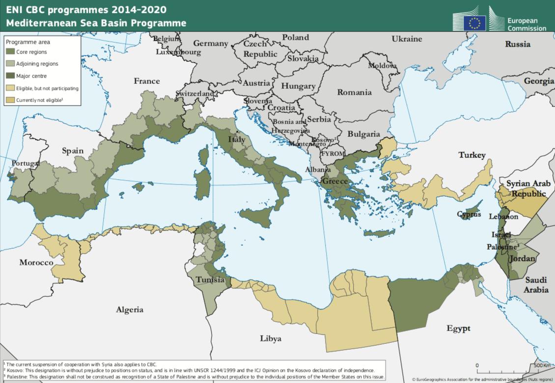 Mediterranean Sea Basin Programme 2014-2020