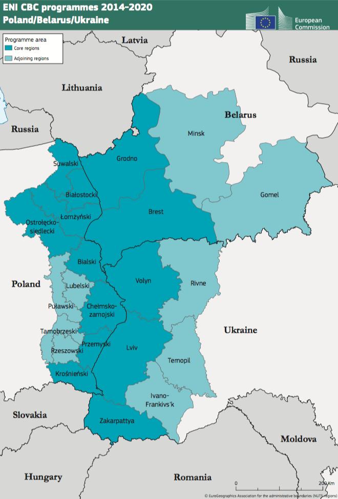 Poland-Belarus-Ukraine ENI CBC Programme