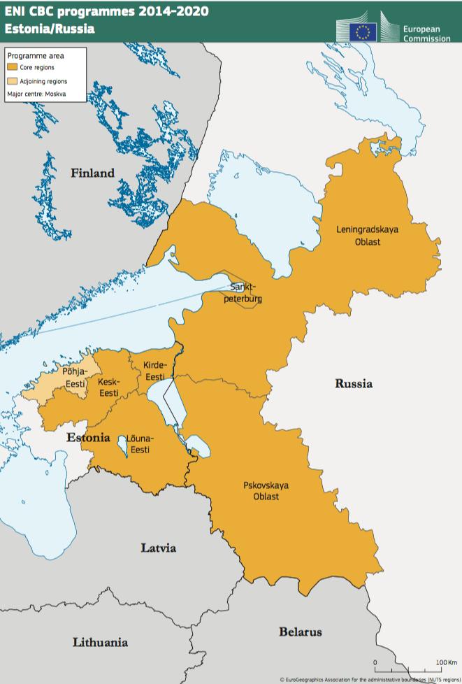 Estonia-Russia ENI CBC Programme 2014-2020