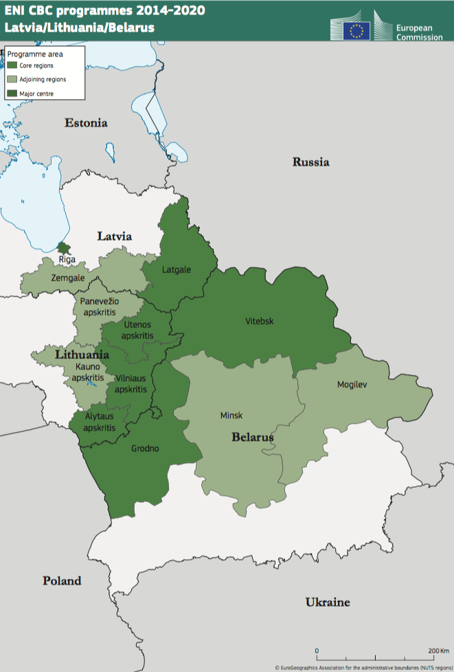 Latvia-Lithuania-Belarus ENI CBC Programme 2014-2020