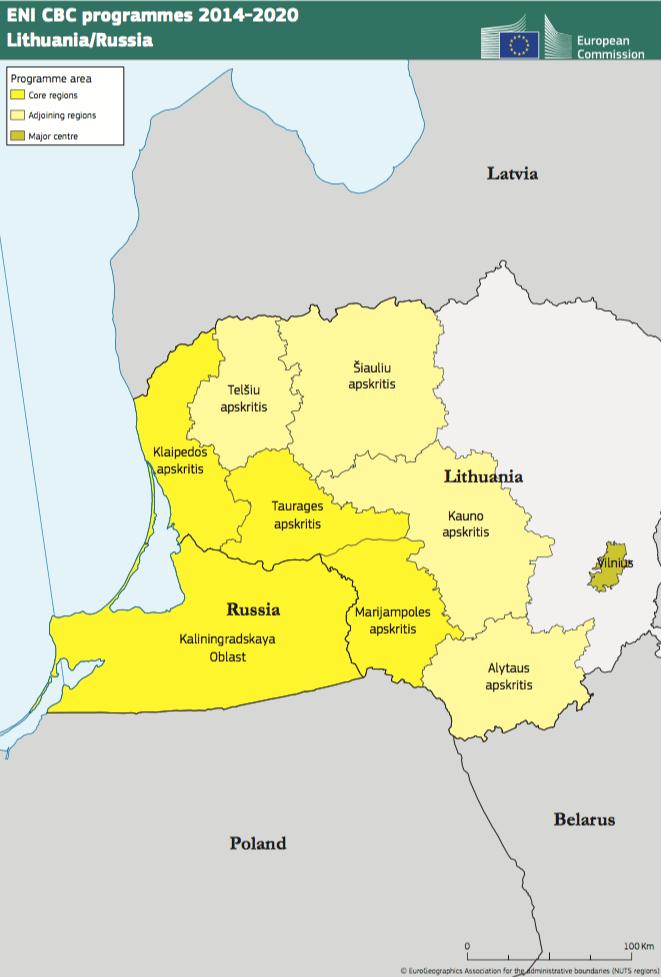 Lithuania-Russia ENI CBC Programme 2014-2020
