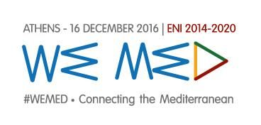 SAVE THE DATE: #WEMED, the Launching Conference of the Cooperation Programme 'ENI CBC Med'