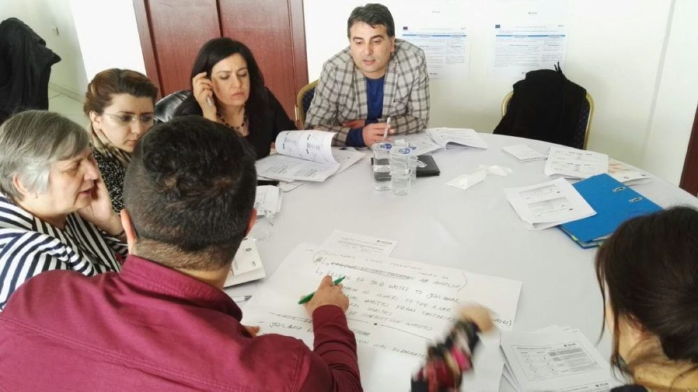 Capacity Building Workshop for ENI CBC MED Programme in Palestine