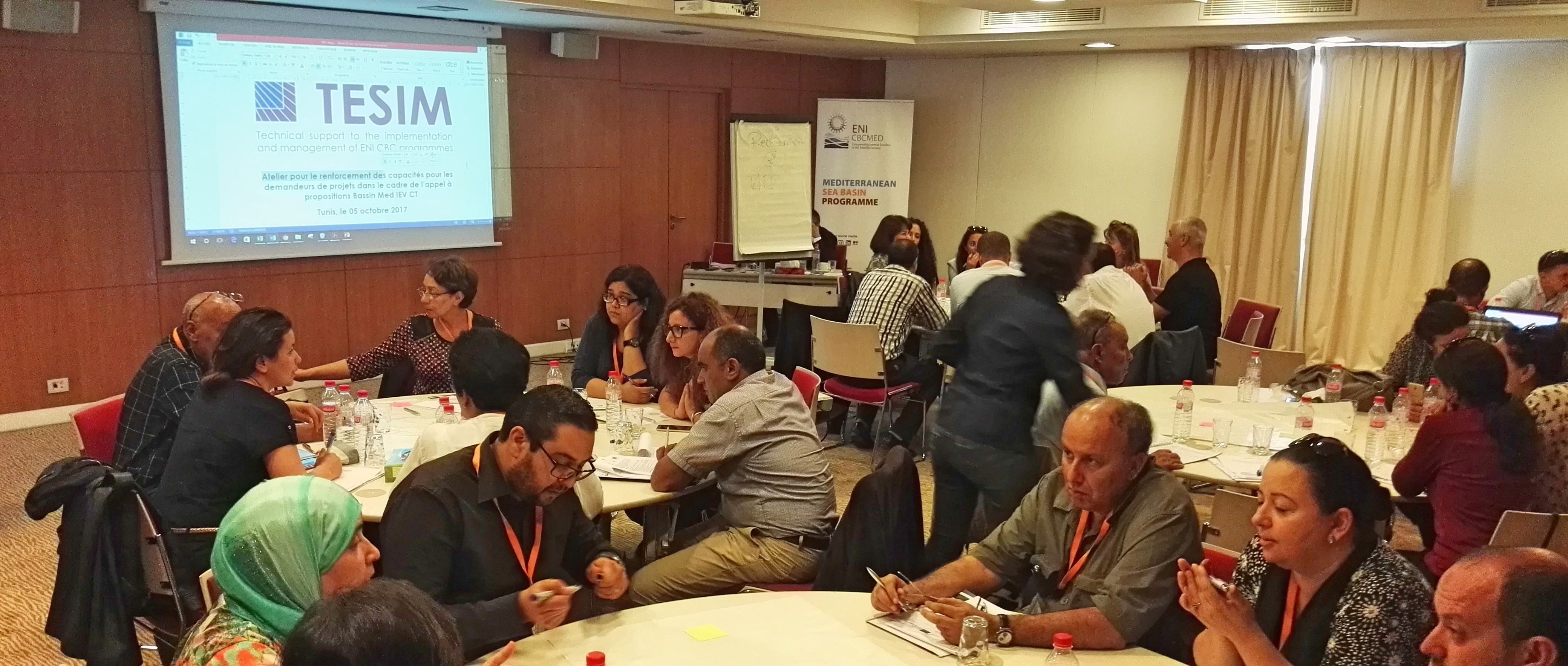Capacity Building Workshop for ENI CBC Med Programme in Lebanon