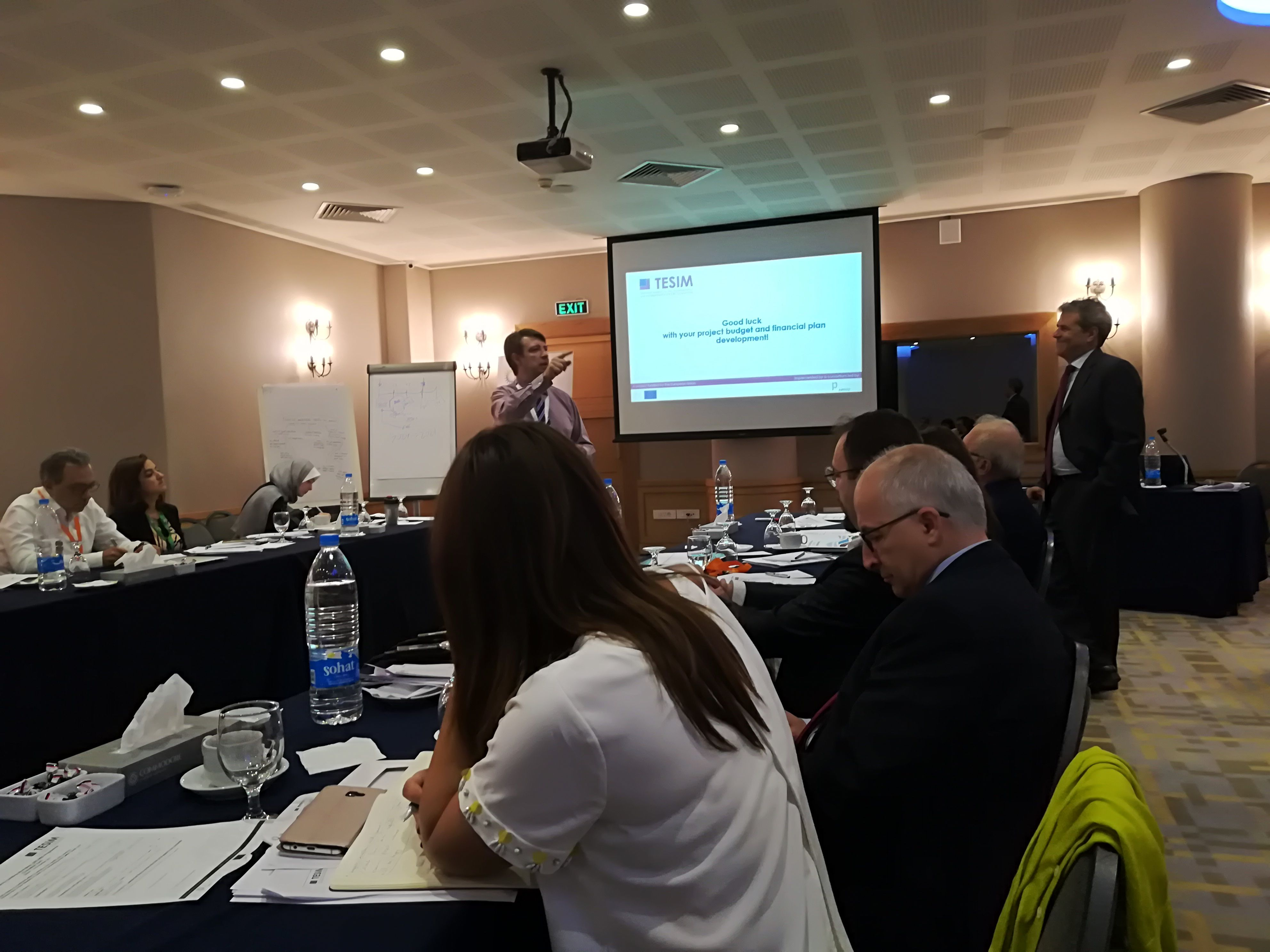 Ateliers de renforcement des capacités, Programme IEV CT Italie Tunisie 2014-2020 : Tunis