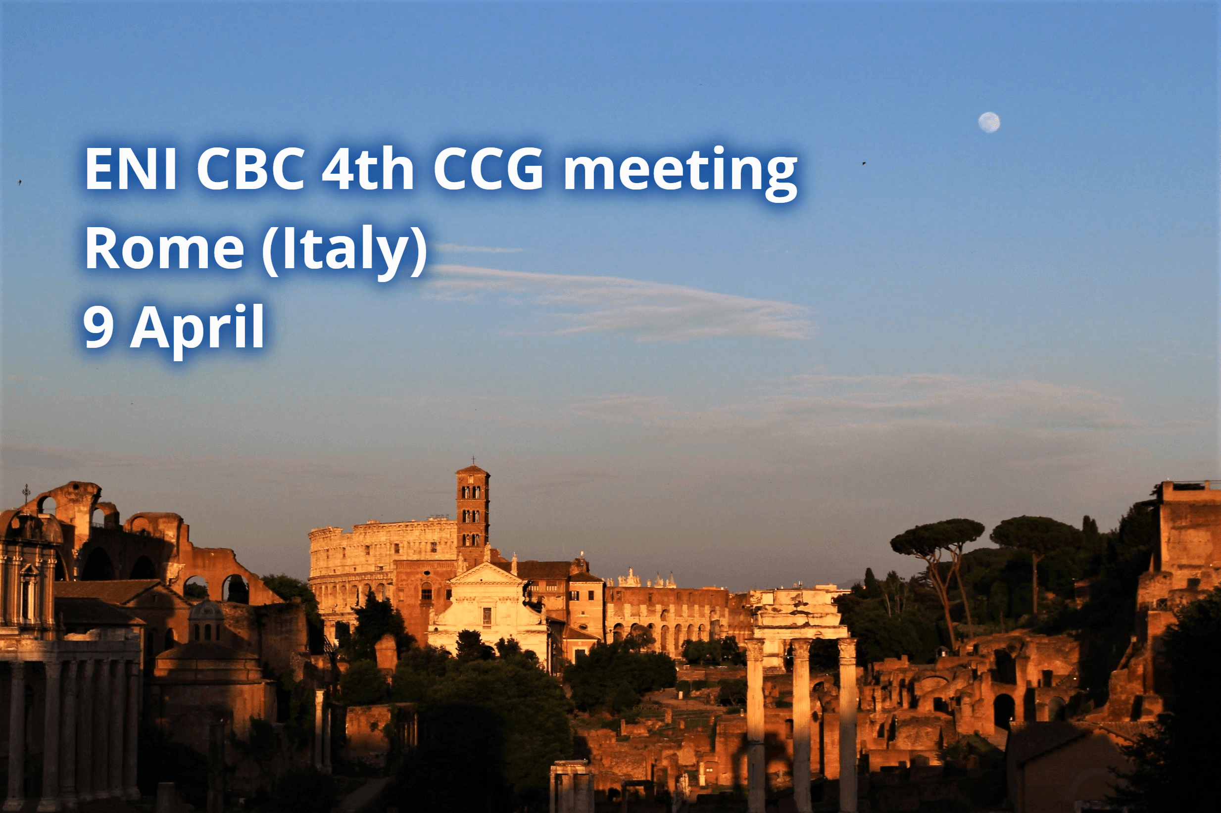 4th meeting of the Consultation and Coordination Group of ENI CBC programmes