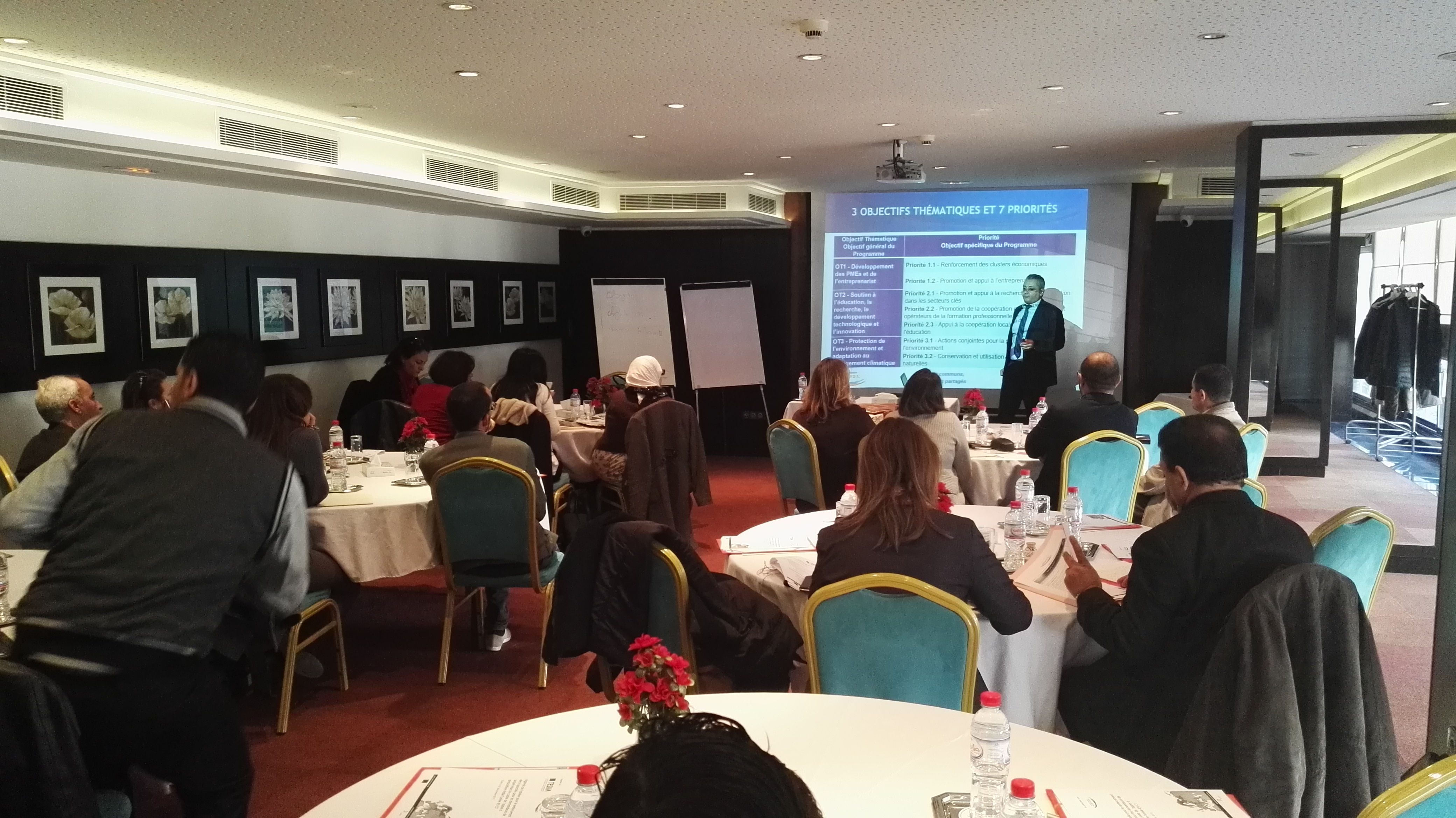 Capacity Building Workshop for ENI CBC MED Programme in Beirut - Lebanon